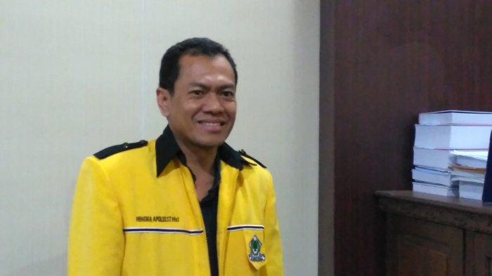 Jabat Ketua DPD Golkar Babel, Hendra Apollo Ingin Berpolitik Bersih