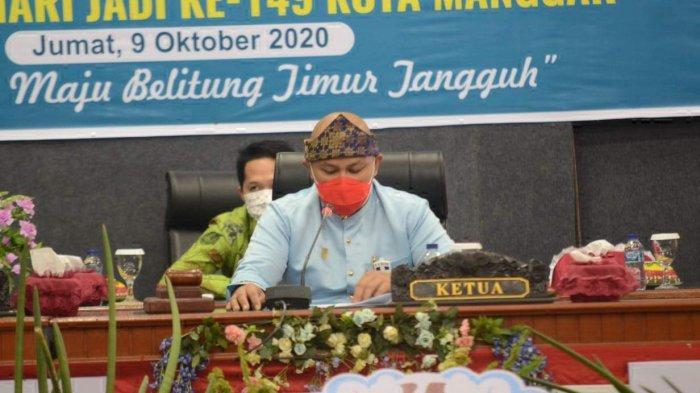 Peringati Hari Jadi Ke-149 Kota Manggar, Jadikan Manggar Maju dan Belitung Timur Tangguh - ketua-dprd-kab-beltim-fezzi-uktolseja-memimpin-jalanya.jpg