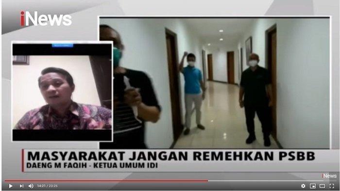 Ketua IDI Bahas Corona, Soroti Amanah Jokowi soal Tes Massal: Enggak Salah, Harus Lebih Kerja Keras