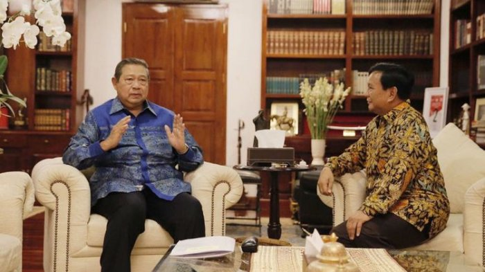 Demokrat Nyatakan Dukungan, SBY Akan Ikut Daftarkan Prabowo-Sandiaga ke KPU