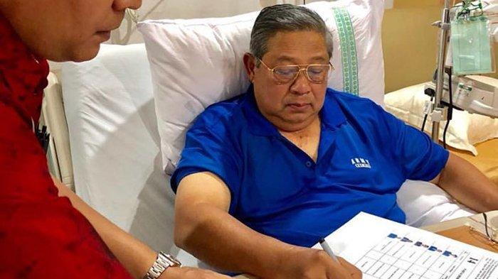 SBY Harus Bed Rest, Pertemuan dengan Prabowo Tunggu Perkembangan Dua Hari ke Depan