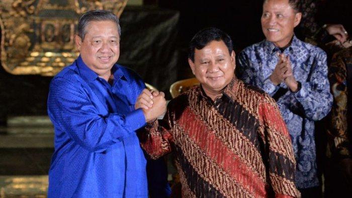 SBY Resmi Dukung Prabowo-Sandiaga, Ini Posisi Mantan Presiden ke-6 Indonesia dalam Tim Pemenangan