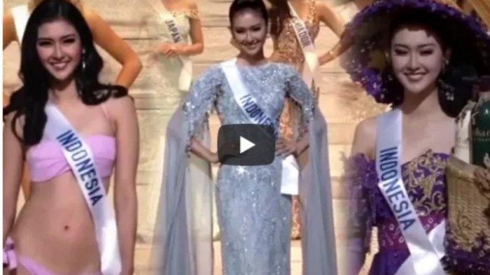 Putri Indonesia Ini Rebut Miss International 2017, Lihat Seksinya Kevin Liliana dalam Balutan Bikini
