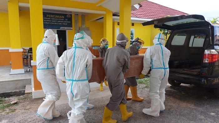 UPDATE Covid-19 di Kabupaten Belitung, Satu Orang Meninggal Dunia Setelah Lima Hari Dirawat