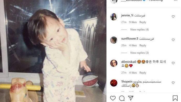 Tampan Sejak Lahir, Ini Potret Masa Kecil Kim Woo Bin yang Bikin Warganet Gemas!