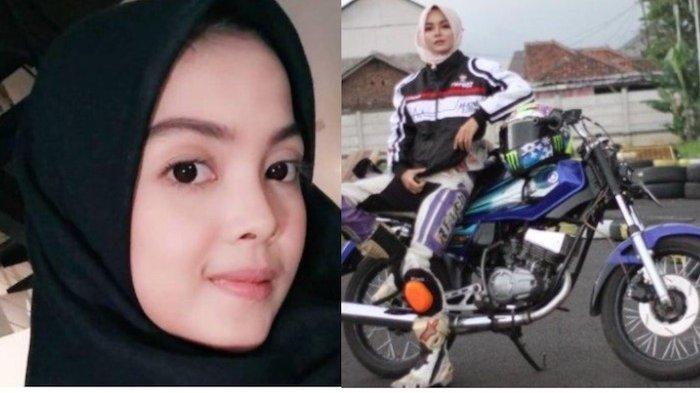 Viral Kintaan Mary Gadis Cantik Suka Balap Tunggangi Motor RX King