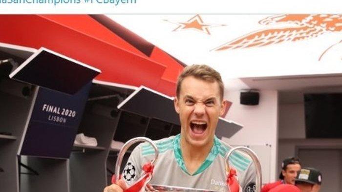 VIDEO, Tangan Sakti Manuel Neuer Bikin Si Bocah Ajaib Erling Haaland Memble, Muenchen Menang 3-2