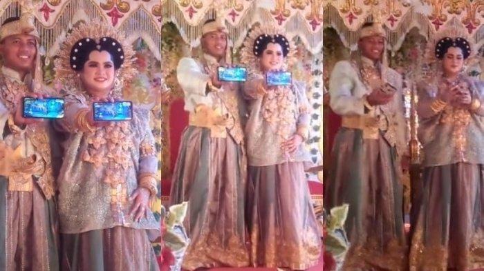 Viral Pasangan Pengantin Tunjukkan Game Free Fire saat Sesi Foto Pernikahan, Begini Kisahnya