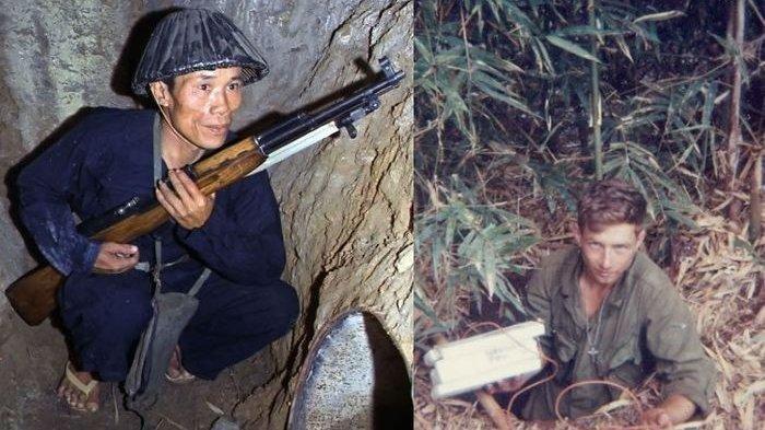 Kisah Perang Vietnam 1955, Pasukan Tikus Terowongan Bersenjata M1917 Berhadapan dengan Ranjau