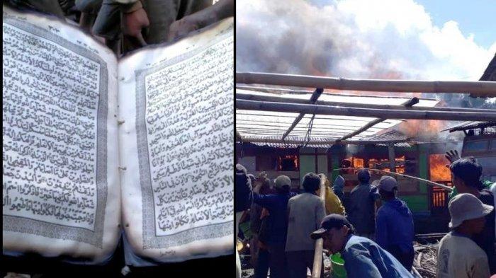 Semua Ludes Terbakar, Al Quran Milik Nuryanto Masih Utuh, Ini Kisahnya