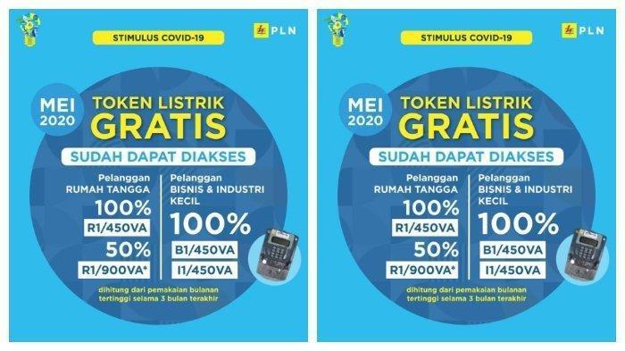 Klaim Token Listrik Gratis PLN Juli 2020, Klik www.pln.co.id