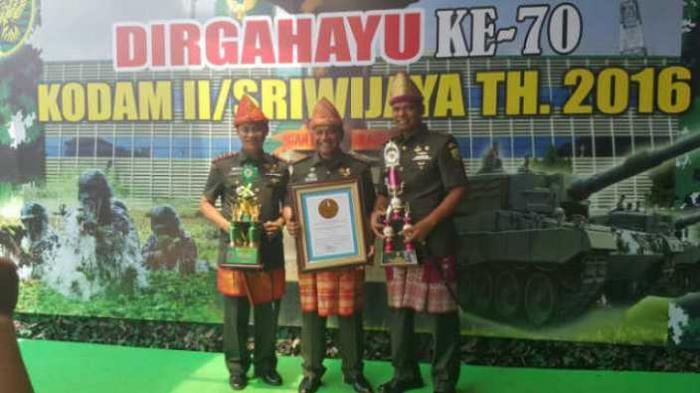 Kodim 0414 Belitung Raih Piala Lomba Binter