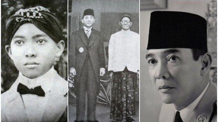 Potret Masa Muda 7 Presiden Indonesia, Dari Presiden Soekarno Hingga Presiden Jokowi