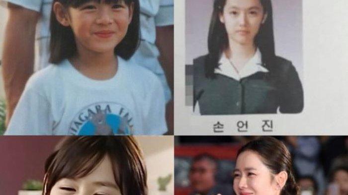 Memang Pantas Dijuluki Cantik Abadi, Netizen Terkejut Lihat Foto Son Ye Jin di Buku Tahunan Sekolah