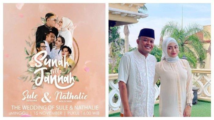 Tonton Pernikahan Sule dan Nathalie Holscher Hari Ini, Live di TV dan YouTube RANS Entertainment