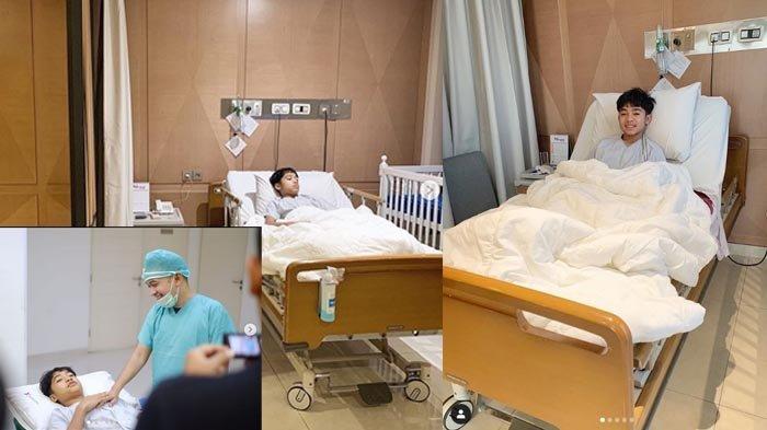 Betrand Peto Mau Dikhitan, Ruben Onsu Bagikan Sederet Foto Detik-detik Sang Putra saat Disunat