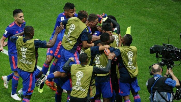 Kolombia Pulangkan Polandia dari Piala Dunia, Kerja Sama Pemain Madrid dan Barcelona