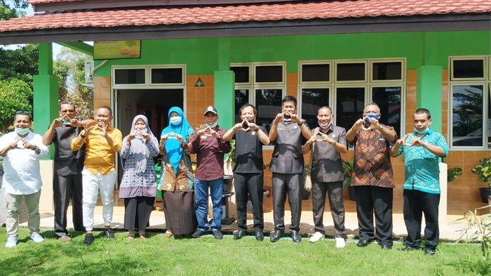 Sambut New Normal, Komisi III DPRD Kabupaten Belitung Sambangi Sekolah