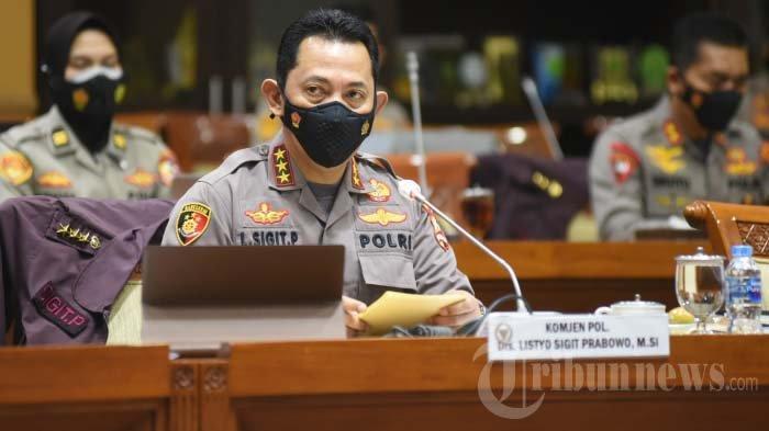 DPR RI Setuju Komjen Listyo Sigit Jadi Kapolri, Ini 6 Komitmen Pengganti Jenderal Idham Azhis