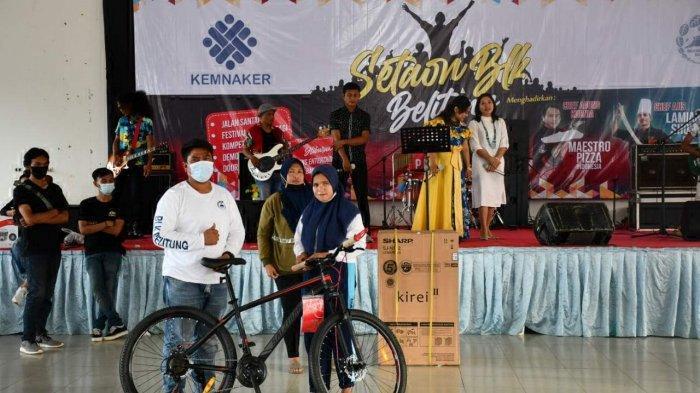 Peringati Setaun BLK Belitung, Puluhan Alumni Mampu Berdikari - kompetisi-barista-sejumlah-alumni-blk-dan.jpg