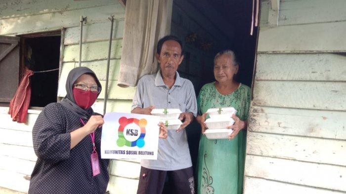 Keluarga Dapoer Belitung Seharian Memasak Lalu Bagikan Seribu Kotak Makanan
