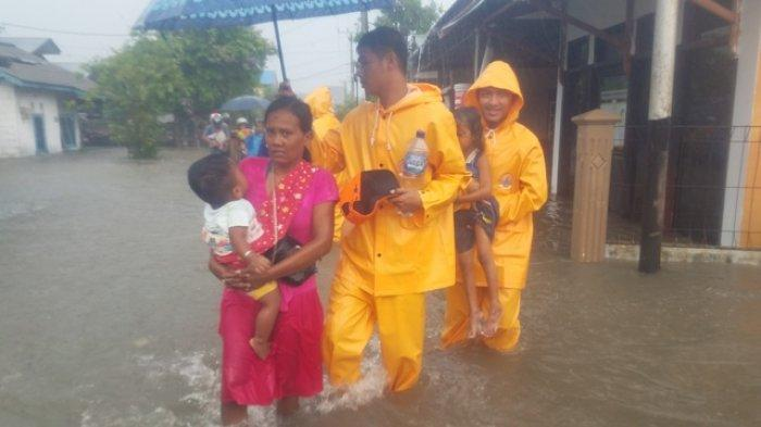 Banjir Kampung Amau Belitung, Warga Keluhkan Ketinggian Air dan Mengaku Takut Masuk Rumah