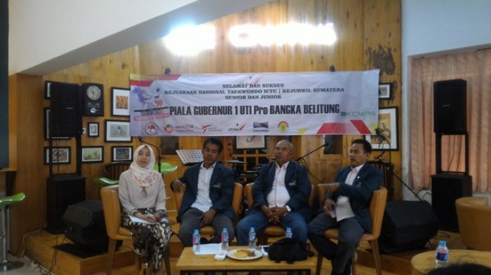 Kejuaraan National ICTU dan Taekwondo akan Digelar di Pangkalpinang