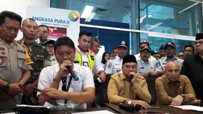 68 Orang Keluarga Penumpang Diberangkatkan ke Jakarta