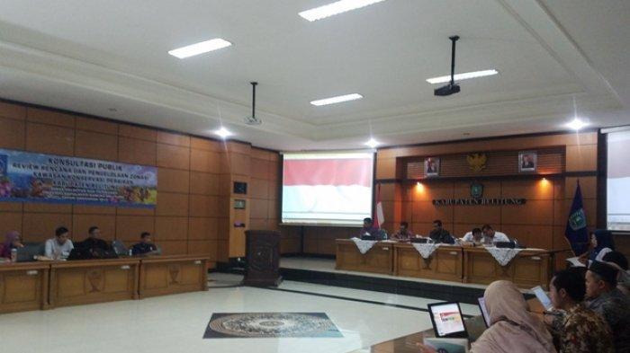 Bupati Beri Catatan Terkait Rencana dan Pengelolaan Zonasi Perairan Belitung