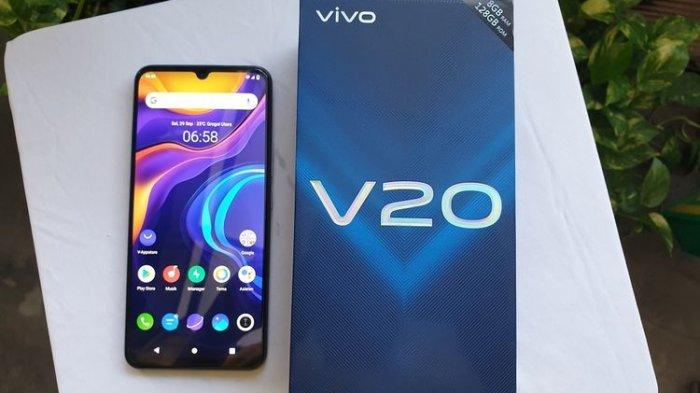Intip Kemasan dan Menjajal Vivo V20 Versi Indonesia, Begini Isinya