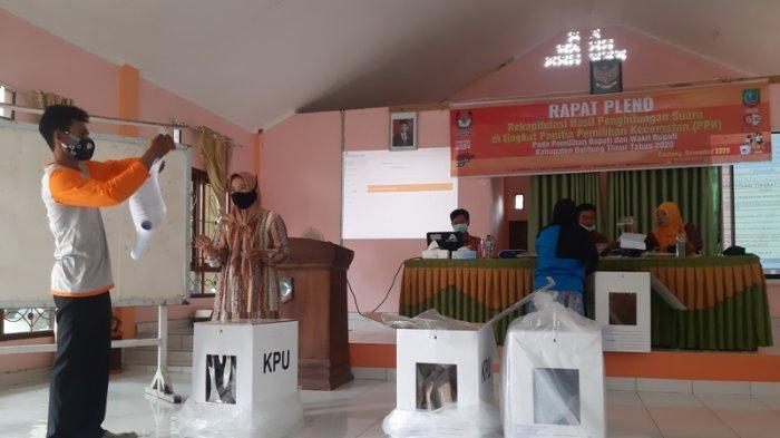 Target Rekapitulasi Suara KPU Belitung Timur Selesai Satu Hari