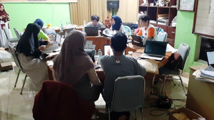 Proses Entry Data Formulir C1 Di Belitung Timur Mencapai Sekitar 92 Persen