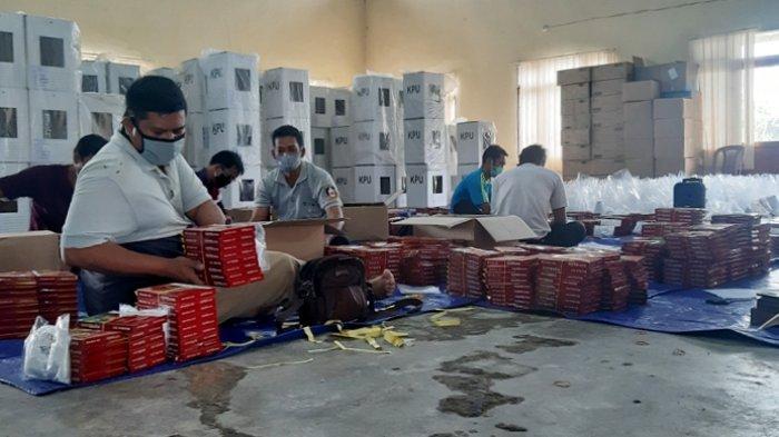 Logistik Pilkada Belitung Timur akan Didistribusikan H-2, Untuk Pulau Terluar Gunakan Perahu Nelayan