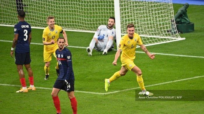Hasil Kualifikasi Piala Dunia 2022: Prancis Gagal Menang Bikin Klasemen Grup D Memanas