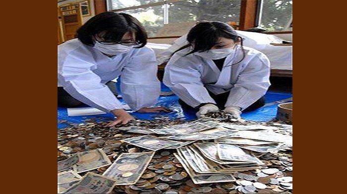Koin Indonesia Ternyata Banyak Ditemukan di Sebuah Lokasi di Jepang Ini