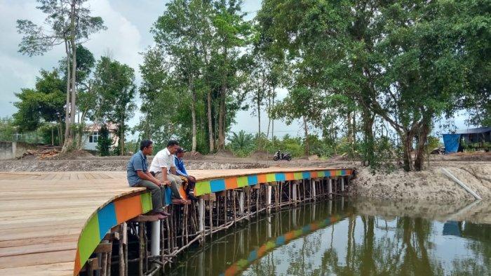 Pemdes Air Merbau Sedang Bahu-membahu Sulap Kolong Jadi Destnasi Wisata