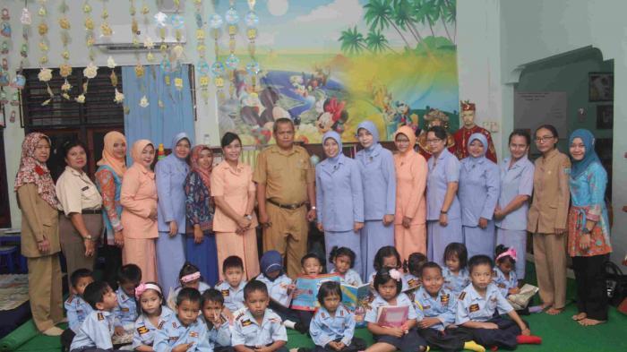 PIA Garini-Perpusda Belitung Tingkatkan Minat Baca Anak