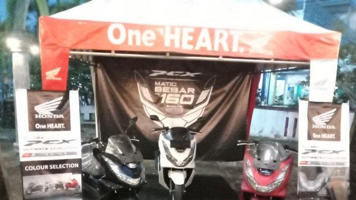 Tunas Dwipa Matra (TDM) Gelar Roadshow Sekaligus Launcing Honda New PCX 160 CC di Laku Cafe Manggar