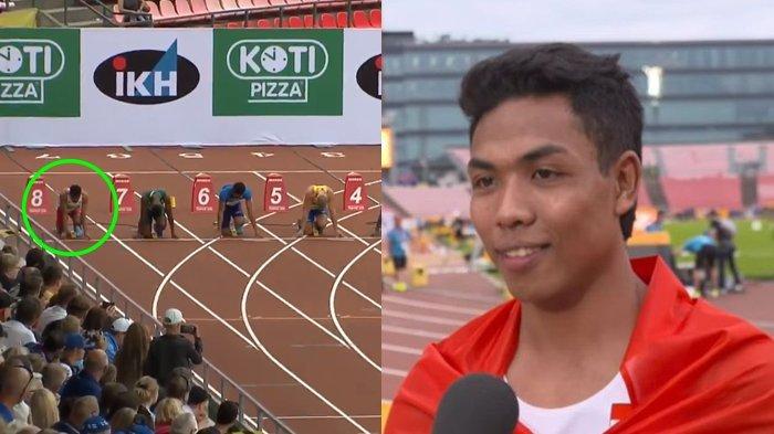 Detik-detik Lalu Muhammad Zohri, Cetak Sejarah Juara Dunia 100 Meter Atletik