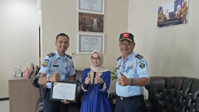 Lapas Kelas IIB Tanjungpandan Berhasil Pertahankan Penghargaan Satker dengan IKPA Terbaik Versi KPPN