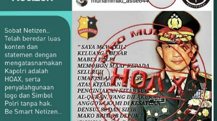 Polisi Minta Warga Berikan Informasi Soal Bom Surabaya Melalui Pesan Pribadi Pos Belitung