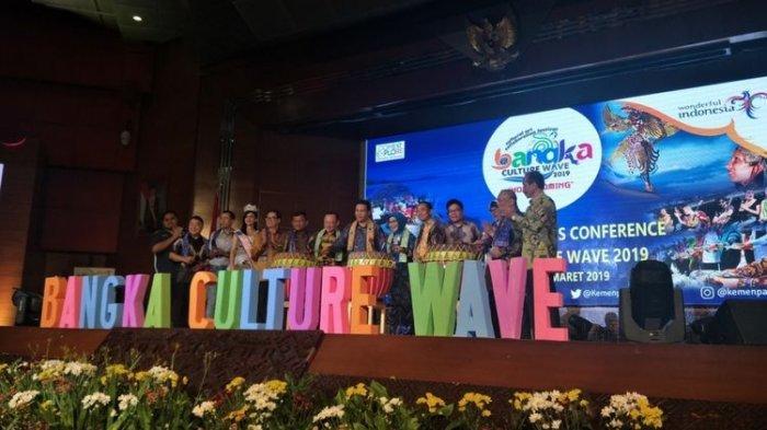 Event Bangka Culture Wave Festival 2019 Awal April Targetkan Gaet 55 Ribu Wisatawan