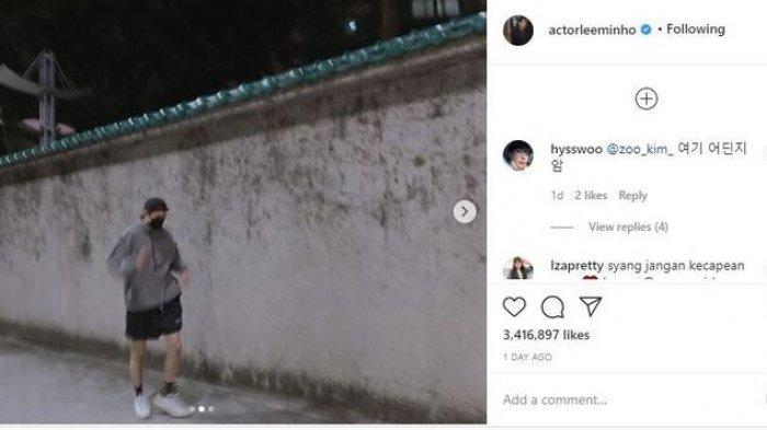 Foto Blur Lee Min Ho Sukses Disukai 3 Juta Pengguna Instagram, Pesona Boyfriend Material!