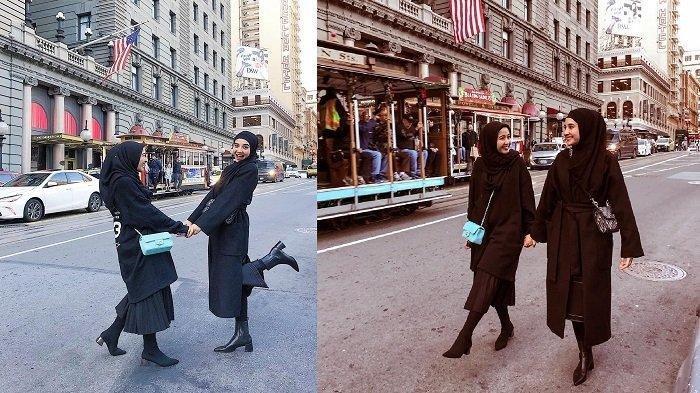 Praktis Buat Traveling, Ini Legging Wudhu ala Seleb Hijabers Harga Rp 40 Ribuan