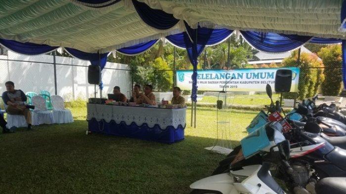 Pemenang Lelang Kendaraan di BPKAD Belitung Harus Penuhi Syarat Ini Jika Tak Ingin Kena Denda