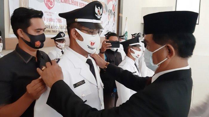 Pesan Bupati Belitung untuk Kades, Jangan Mudah Memberhentikan Perangkat Desa