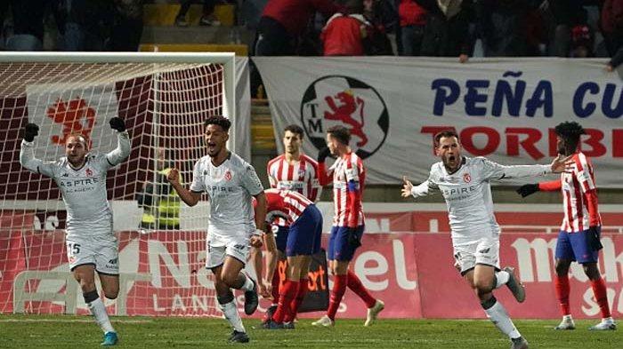 Atletico Madrid Disingkirkan Tim Divisi Tiga Ajang Copa del Rey, Gol Lawan Bikin Nyesek