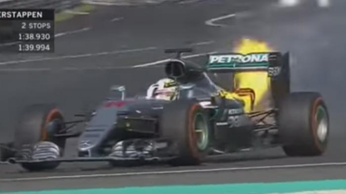 Insiden Mobil F1 Hamilton Dituding Ada Sabotase, Ini Penjelasan Mercedes