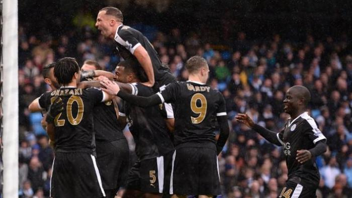 Leicester Takluk Manchester City