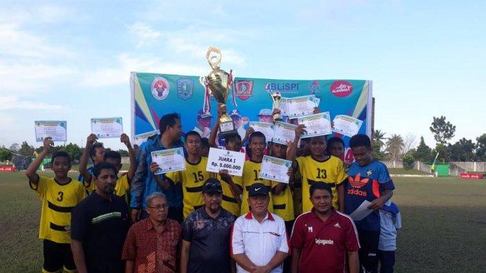 KOP Tanjungpandan Juara Liga Sepakbola Pelajar Belitung